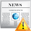 news warning