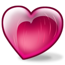 cherry heart icon