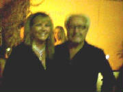 Mick Jones of Foreigner with Barbara Rose